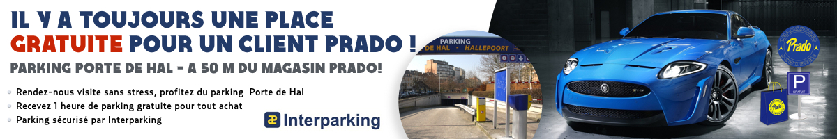 Parking chaussures Prado